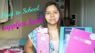 High School Supplies Haul 2014 Thumbnail