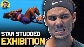 Nadal, Halep, Djokovic EXHIBITION before Australian Open 2021 | Tennis News