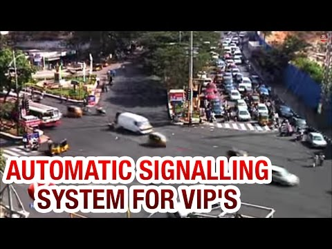 Automatic Signal Free system for VIPs in Hyderabad to avoid traffic (20-01-2015)