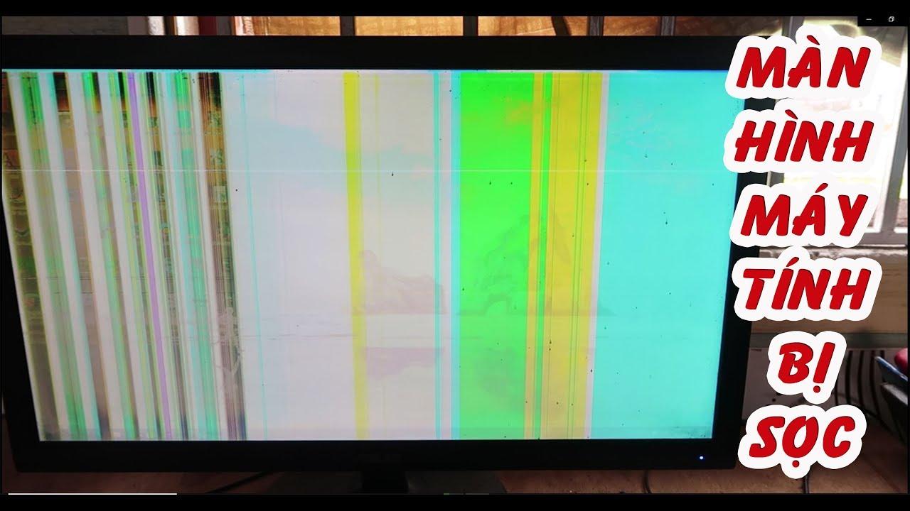 Thử Mở màn hình máy tính bị sọc , nháy màu và kết quả bất ngờ ► Lão Bụt