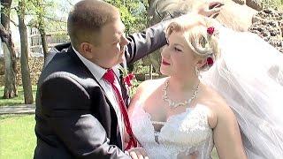 Свадьба в Херсоне. Жених и невеста Иван и Галина. Свадебная прогулка.