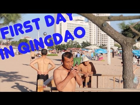 First day in Qingdao