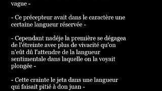 LANGUEUR french word pronunciation in sentence