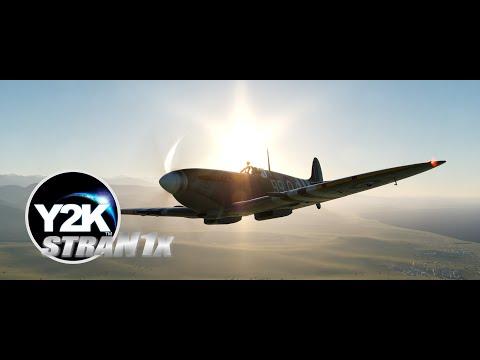 DCS: Spitfire Free Flight & Carrier Landing