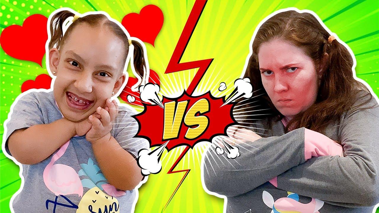 Criança EDUCADA VS MAL EDUCADA (Good and bad behavior for kids) - Família MC Divertida