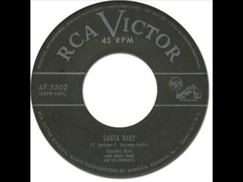 EARTHA KITT - Santa Baby [RCA Victor 47-5502] 1953