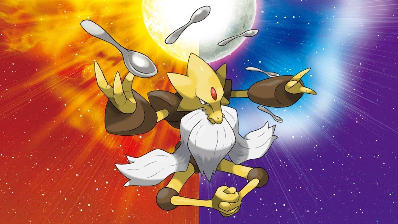 pokemon sun moon mega alakazam fixed youtube