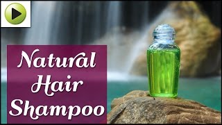 Natural Homemade Hair Shampoo