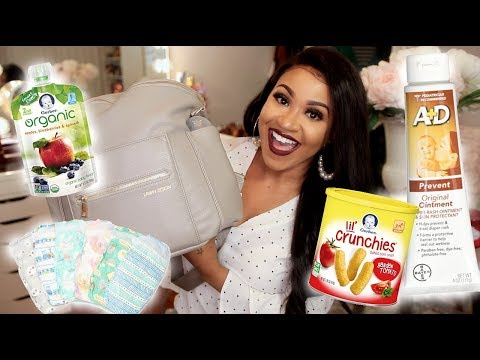 What's in My Diaper Bag? | First Time Mom!!