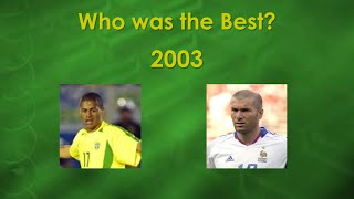 2003 zidane vs alex   skills assists and goals   who was the best