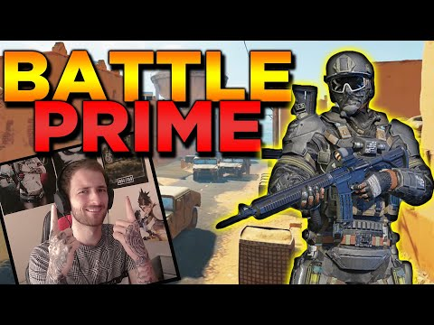 BATTLE PRIME *NEW* INSANE FUN FPS 120FPS GAME FOR ANDROID AND IOS