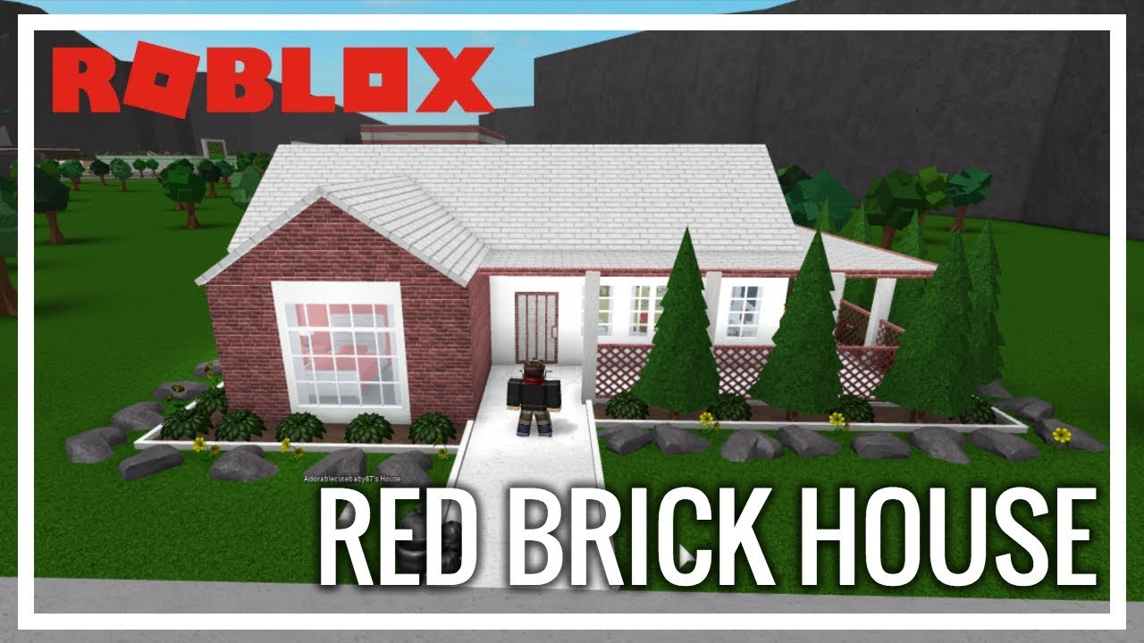 Roblox Welcome To Bloxburg Renovations Red Brick House
