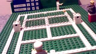 Andy Murray wins Wimbledon 2013 - In LEGO