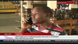 TMCEL restabelece comunicação de voz, dados e internet no centro do