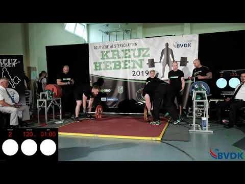 Deutsche Meisterschaft im Kreuzheben 2019 - Gruppe 4