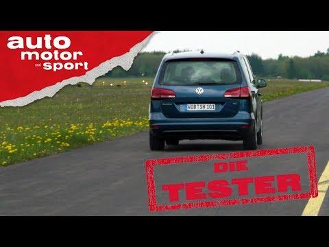 VW Sharan 1.4 TSI: Untermotorisiert? - Die Tester | auto motor und sport