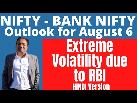 Nifty Prediction And Bank Nifty Analysis For Friday | 6 August 2021 | Bank Nifty Tomorrow