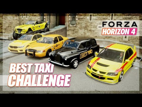 Forza Horizon 4 - Best Taxi Challenge (From Around the World) thumbnail