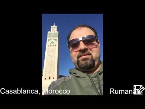 Rumanati Trip Day 1 to Casablanca City in Morocco March 2017