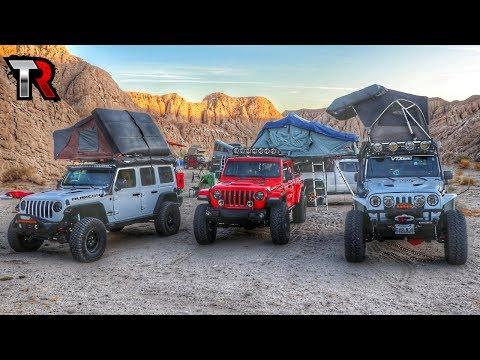 Take A Tour Of Some Amazing Overland Camp Setups