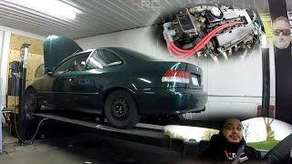 Car Vlog Pt.18 | Ivy Is Back! Hybrid B20VTEC Dyno Session, Impressions, 4BP Decal & More