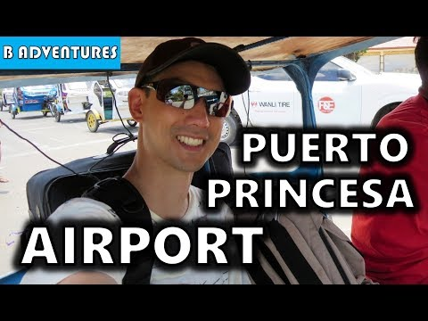 Travel Tips & Puerto Princesa Airport, Palawan, Philippines S3, Travel Vlog #75