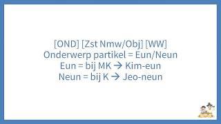 Basis Koreaanse Grammatica - Webinar Opname #2 - Kimchi TV