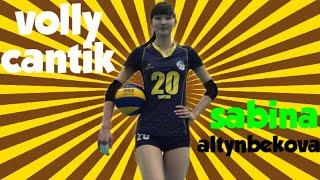 5 Fakta Pemain Volly Cantik - Sabina Altynbekova Yg Harus Kamu Tau