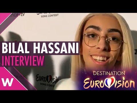 "Bilal Hassani - ""Roi"" Interview @ Destination Eurovision 2019 | wiwibloggs"