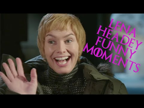 Lena Headey Funny Moments