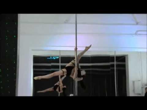 Variation Leg Trap - Ekaterina Guseva (Екатерина Гусева) Advanced Pole Trick
