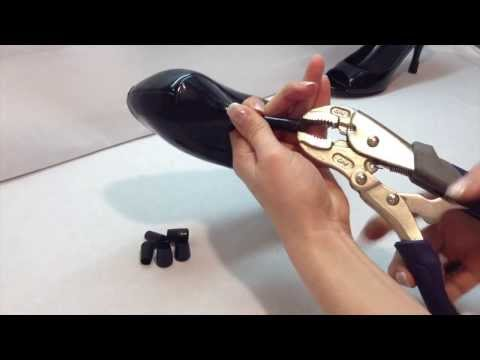 How To Replace Your Heel Tips In Less Than 1 Mn