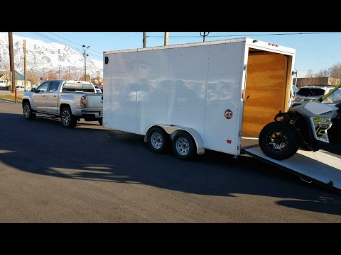 Gmc Canyon Towing Capacity >> 2017 Gmc Canyon Denali Duramax Diesel Towing Review Youtube