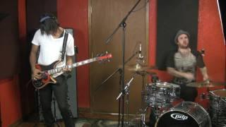 Jon Reshard  and Jon Wilkes in the studio