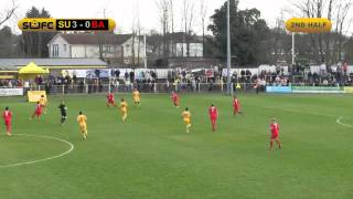 Sutton United v Basingstoke Town - Match Highlights - 15/03/14
