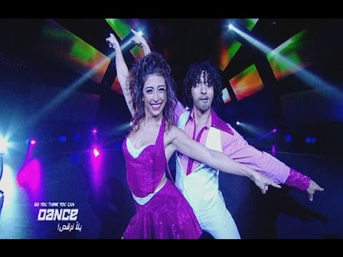 SYTYCD - Live 7 - Jana and  Mohamed - Disco Dance