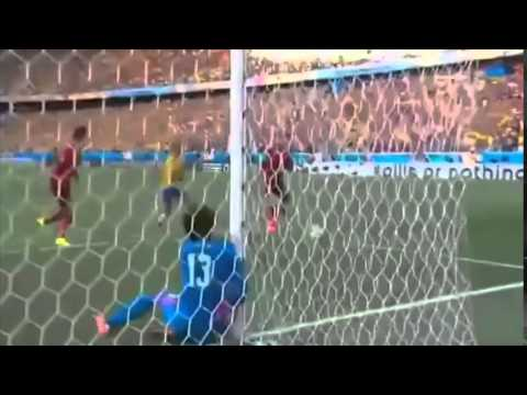 Brazil VS Mexico 0-0 : World Cup 2014 Highlight (SUPER SAVES)