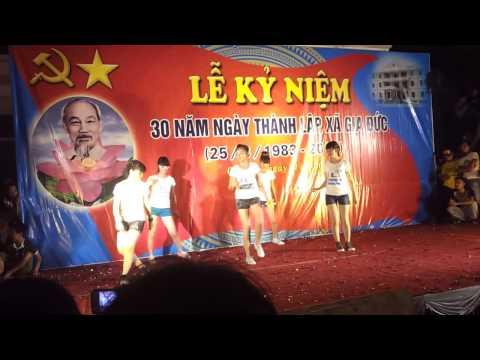 Lovey dovey - T-ara dance cover from VietNam - hội trại Gia Đức 2013