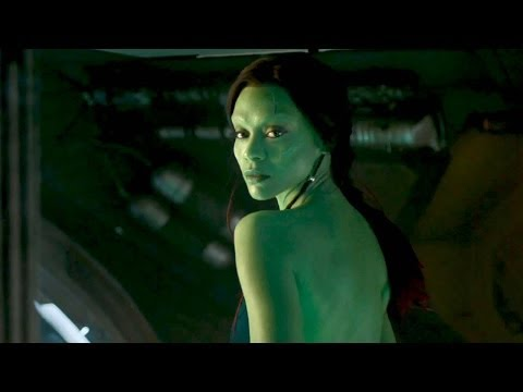 """GUARDIANS OF THE GALAXY """"Gamora"""" Character Trailer"""