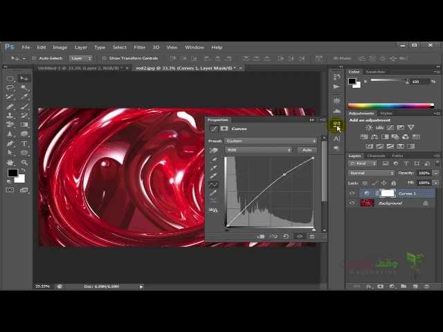 Adobe Photoshop cs6- 67- Panel Histogram وكيفية معرفة تعديل الالوان