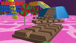 Roblox Escape The Candyland Obby (Gameplay Video)