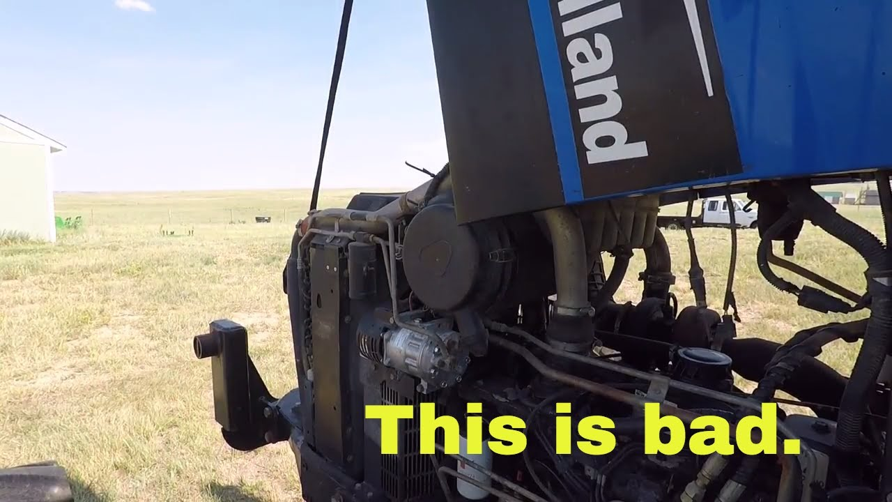 The first New Holland service problems