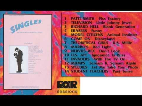 '70's NY PUNK ) Various ‎– Singles ★ The Great New York Singles Scene