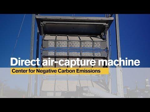 Direct air-capture machine | Arizona State University