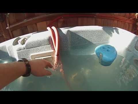 Solar Heated Hot Tub