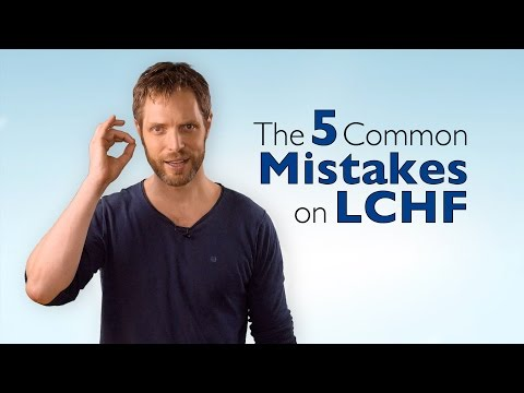 The 5 most common mistakes on LCHF (teaser with 2/5 mistakes)