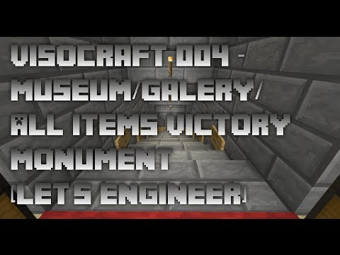 VisoCraft 004 -  Museum/Galery/All items Victory Monument [Let's Engineer]