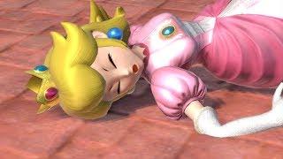 【Ryona】スマブラ ピーチ リョナ Smash Bros U…