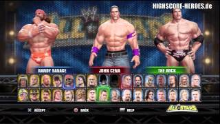 WWE All Stars: PS3 + 360 Unlock Everything Code + Every Attire