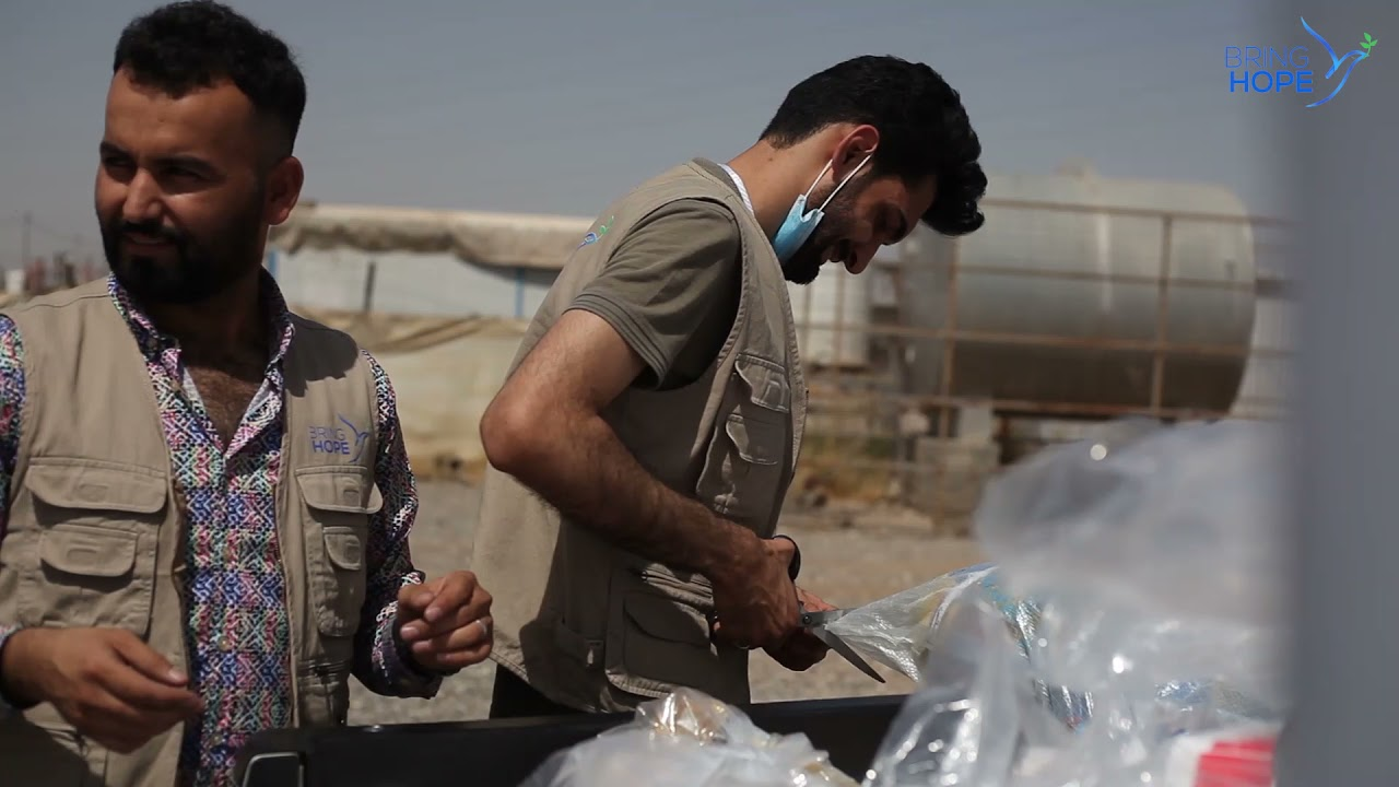 #FoodForHope - Video from our Eid-al-Fitr distribution